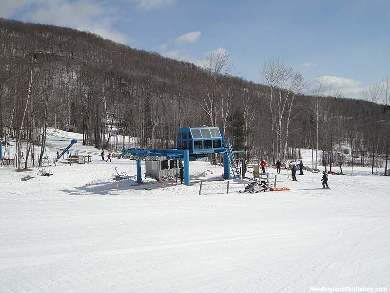 The Summit Triple Chair bottom terminal in 2013