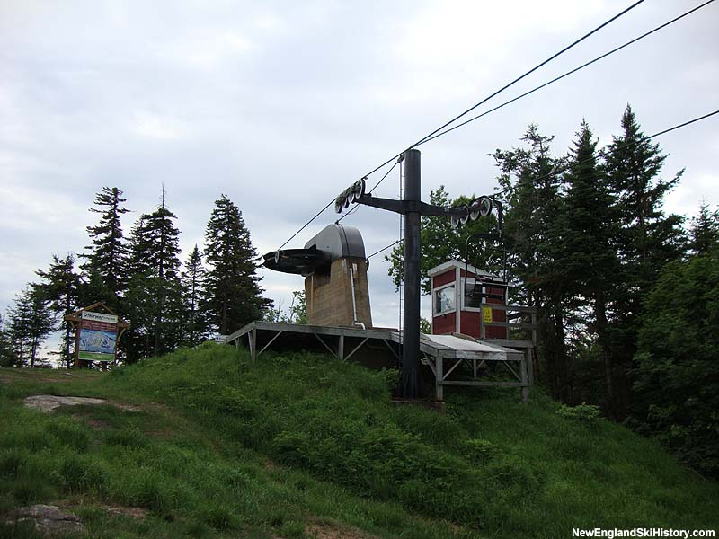 The Way Back Machine chairlift in 2010