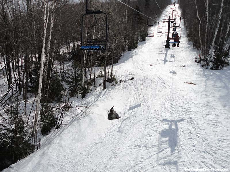 The Way Back Machine chairlift in 2013
