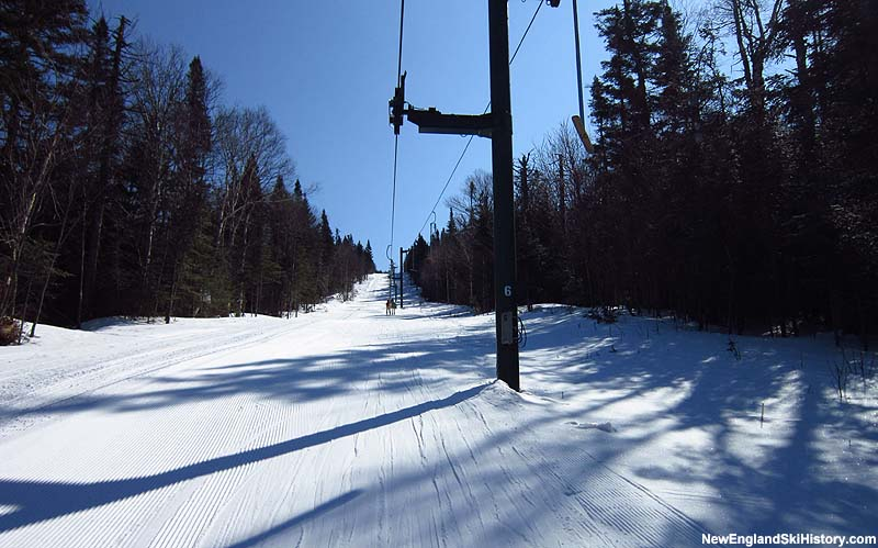 The Cupsuptic T-Bar in 2012