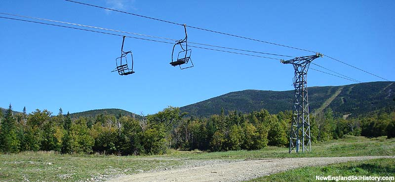 The Rangeley Double Chair in 2007