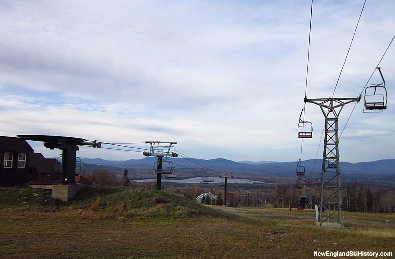 The Rangeley Double Chair in 2011