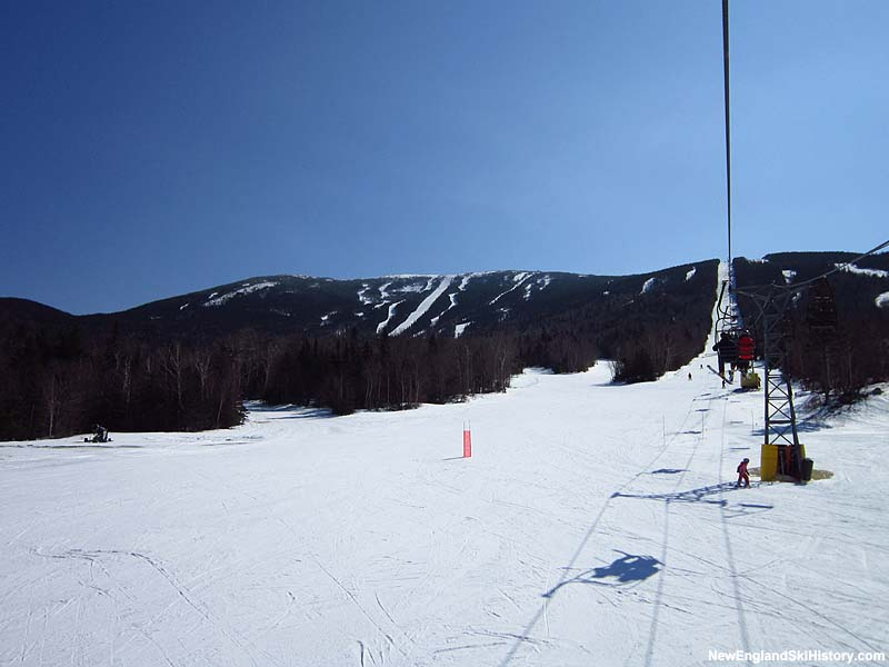 The Rangeley Double Chair in 2012