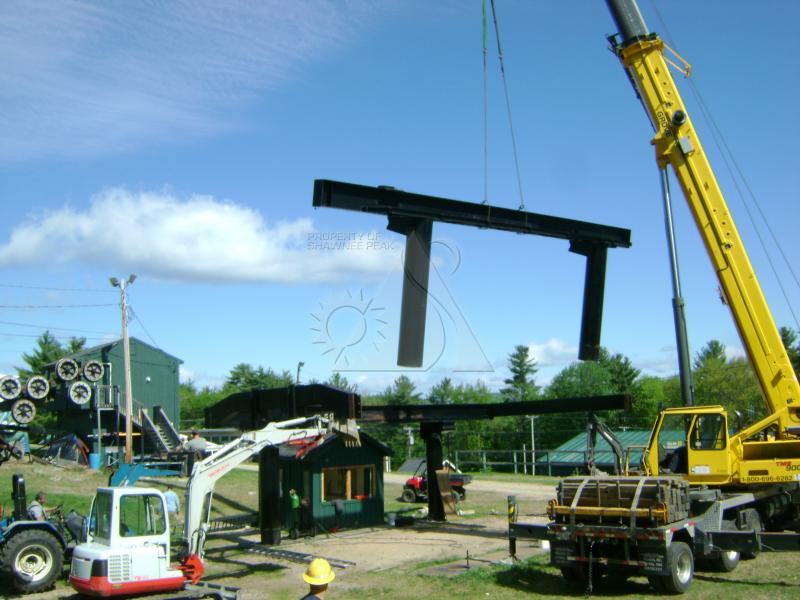 Removal of the Summit Triple in 2010