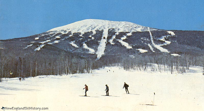 The lift line (left background) (1960s)