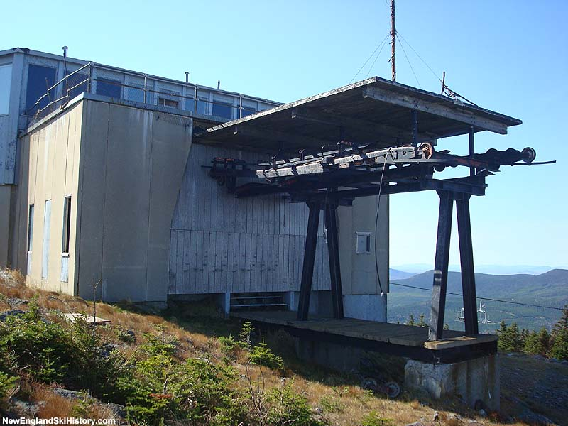 The gondola top terminal in 2008