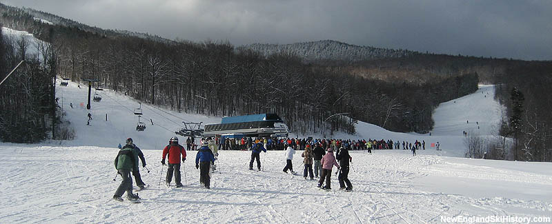 The Jordan Bowl Express Quad bottom terminal in 2007