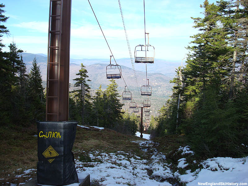 The Locke Mountain Triple in 2007