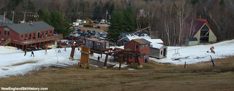 The Locke Mountain Triple bottom terminal in 2007