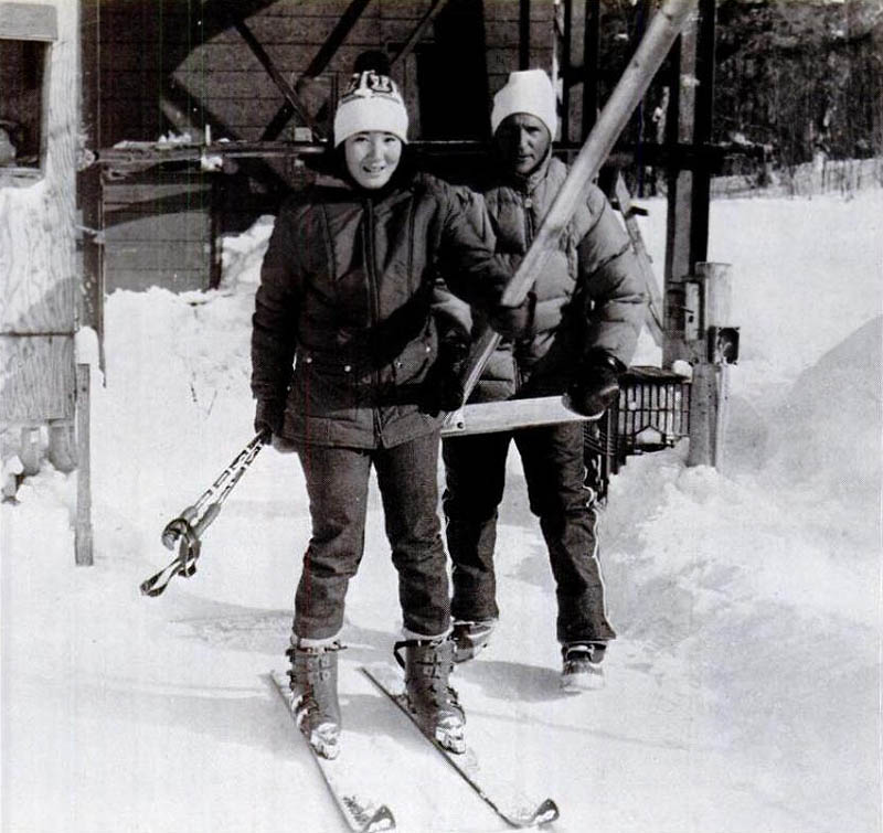 The Mixing Bowl T-Bar circa the mid to late 1970s