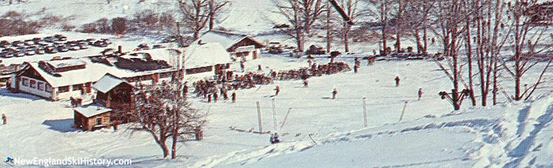 The Catamount T-Bar circa the early to mid 1960s