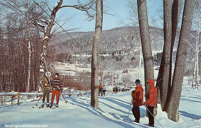 The Holiday T-Bar circa the 1960s