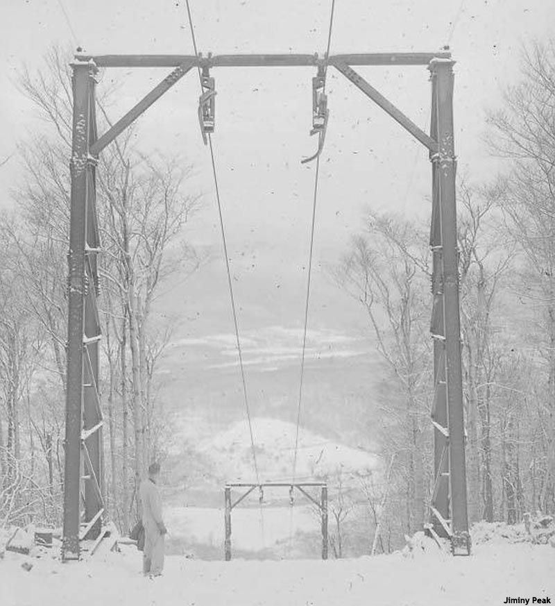 The lift line circa 1948 or 1949