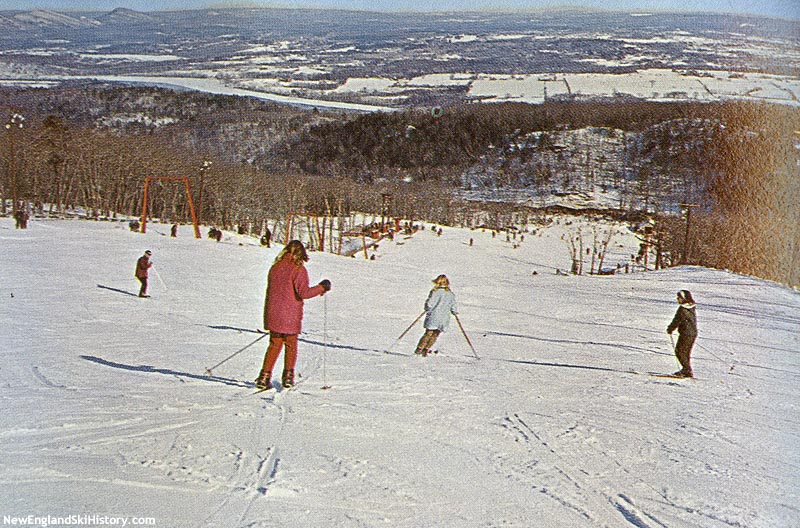 The Upper T-Bar circa the mid 1960s