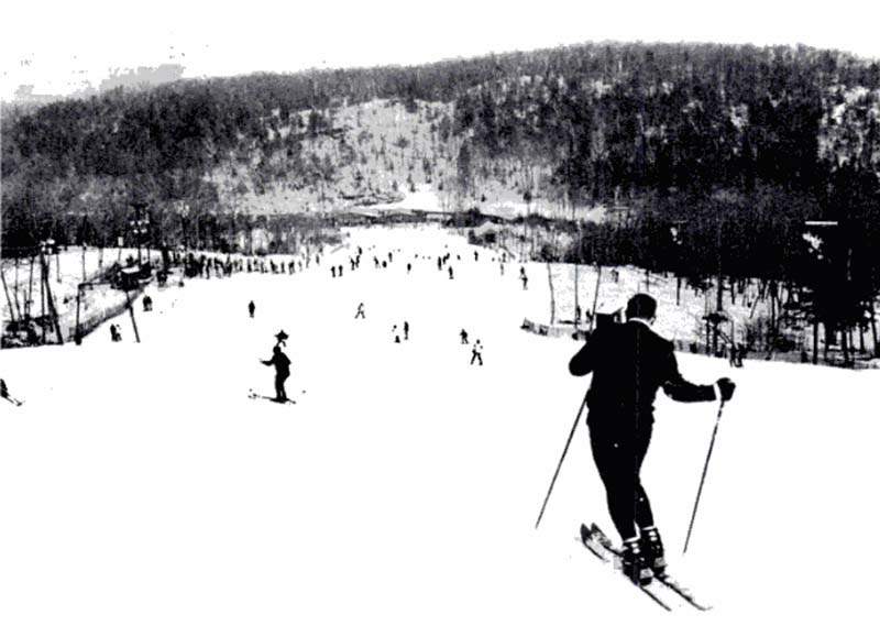 Upper Tom T-Bar circa the 1970s