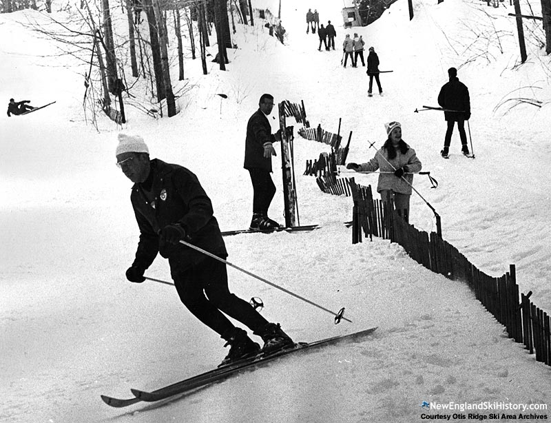 The lift line circa the 1960s