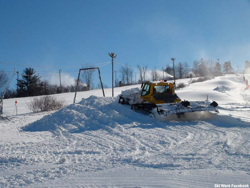 The Ski Ward T-Bar in 2013