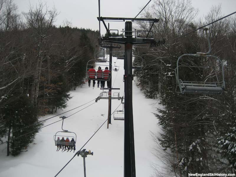 The Flying Yankee Express Quad (bottom) in 2008