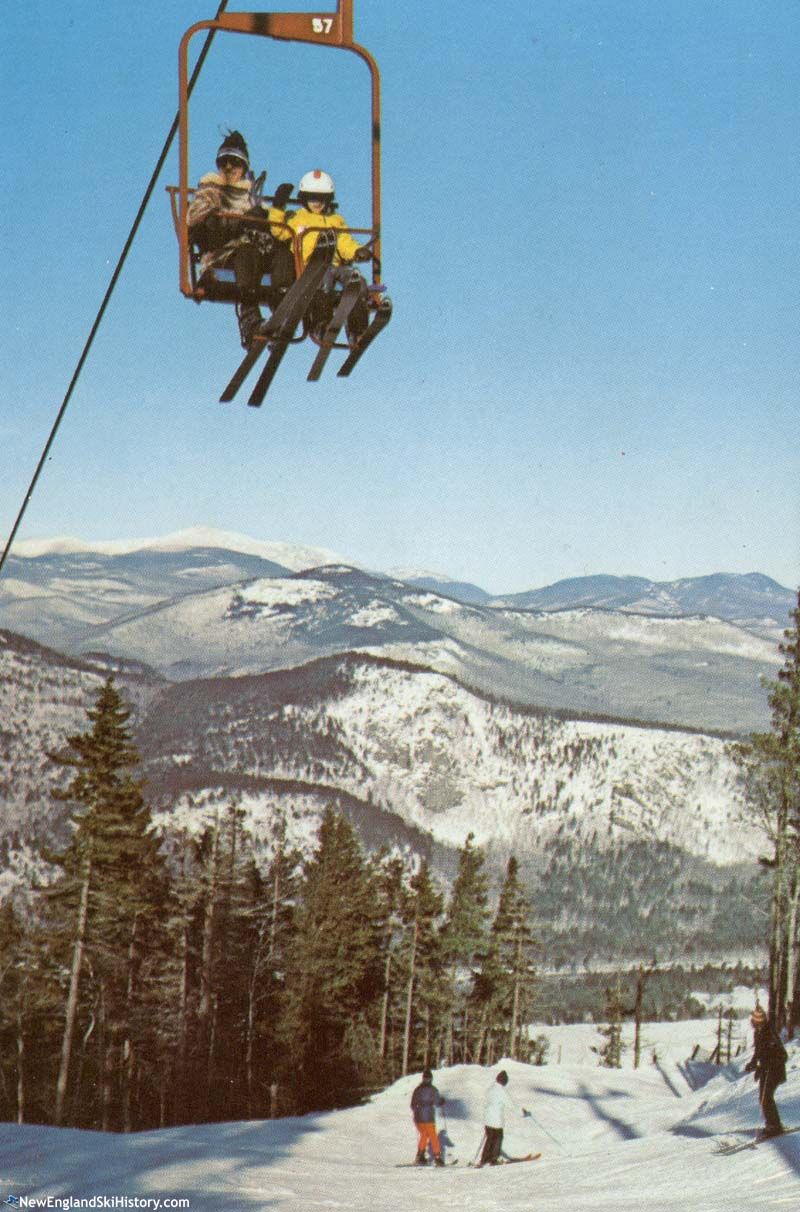 The lift line circa the 1970s
