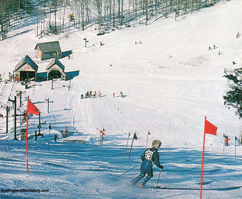 The T-Bar (second from left) circa the 1970s