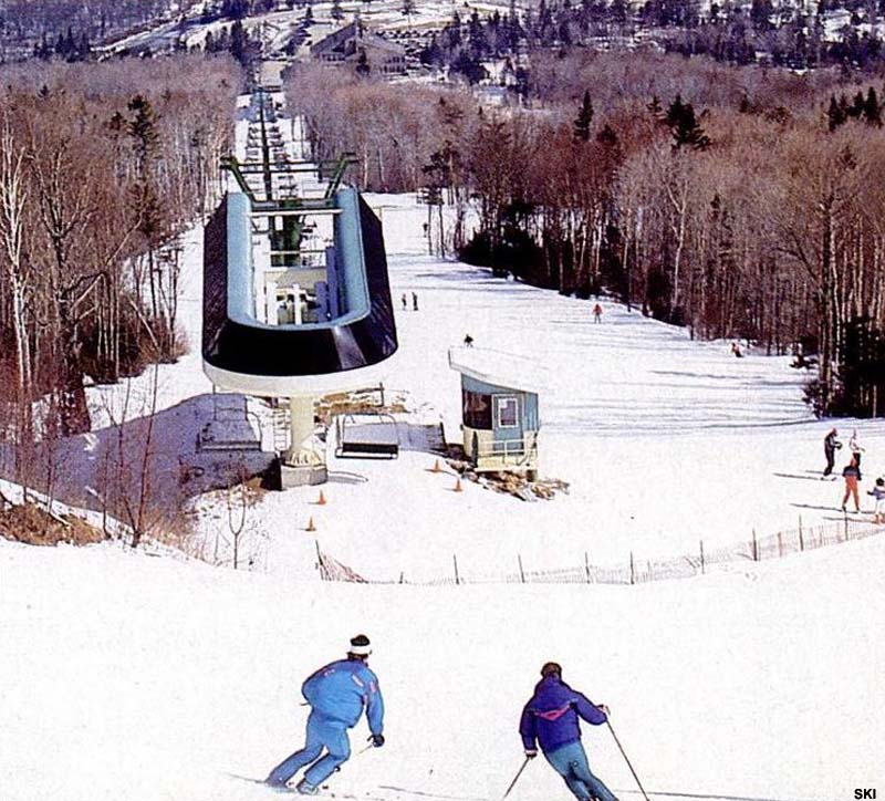 The Bethlehem Express Quad circa the early 1990s
