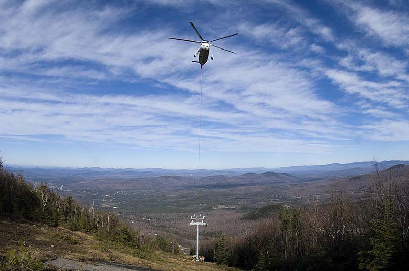 Mittersill Double Chairlift installation in 2010