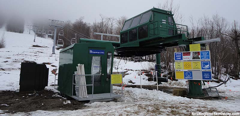 Mittersill Double Chairlift, January 2, 2011