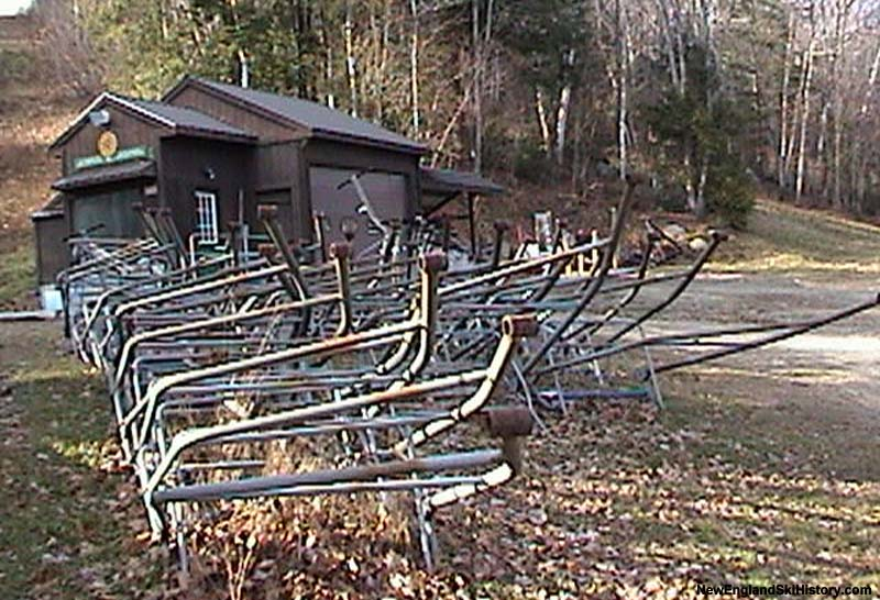 Chairs adjacent to the base terminal (2003)