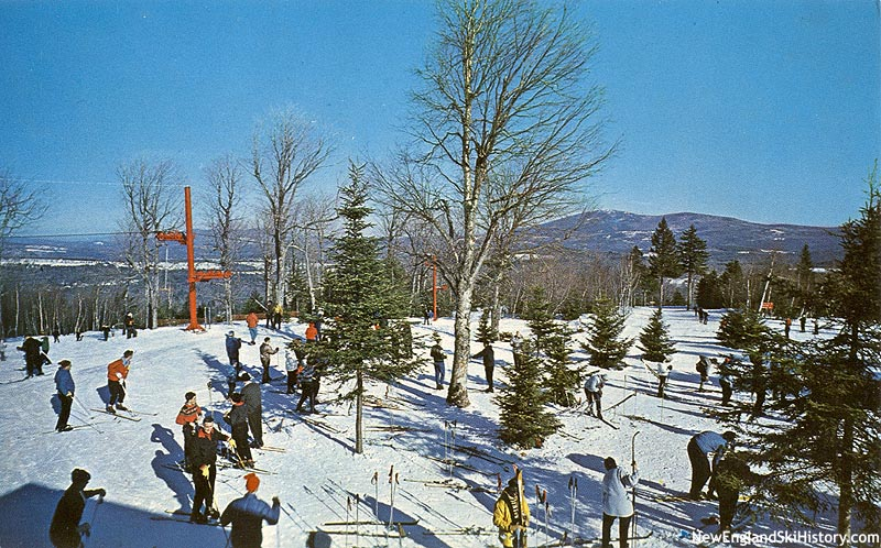 The top of the lift circa the 1960s