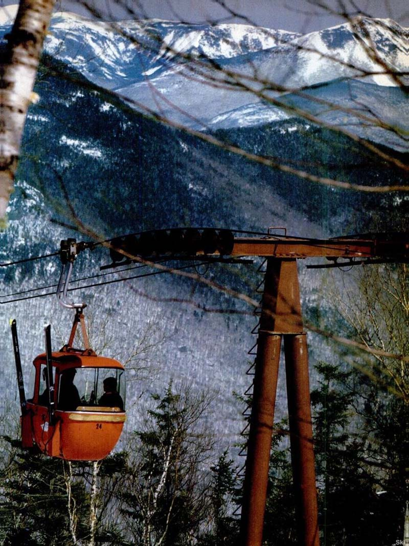 The Loon Gondola in the 1960s