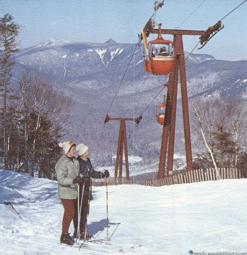 The gondola circa 1966 or 1967