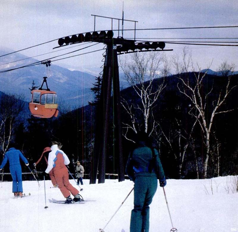 The Loon Gondola circa the 1970s