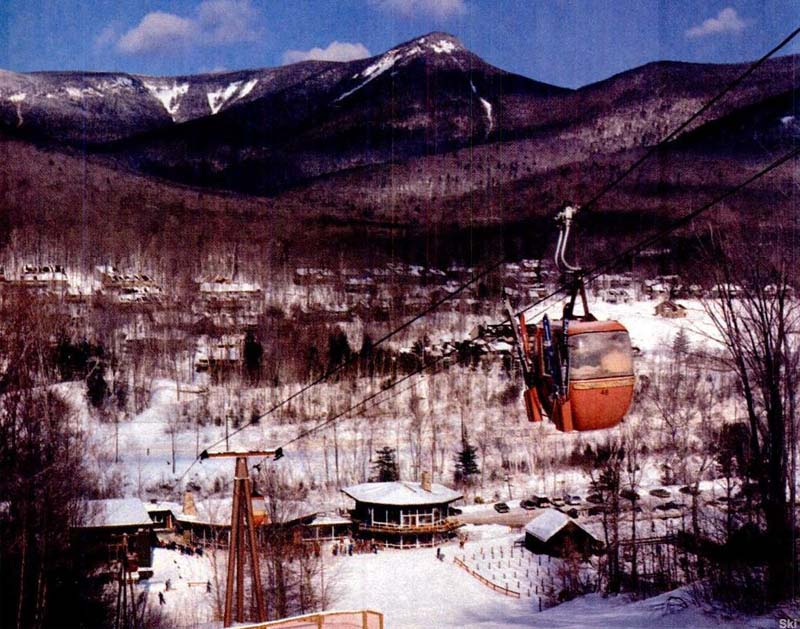 The Loon Gondola circa the 1980s