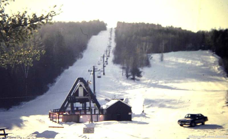 The double chairlift circa the 1980s
