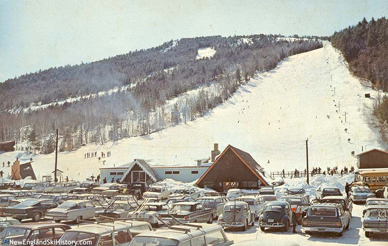 The Whittier T-Bar (right) circa the 1960s