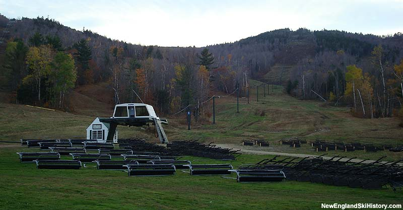 The Spear Mountain Triple in 2007