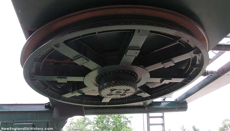 The bottom terminal during removal (2014)