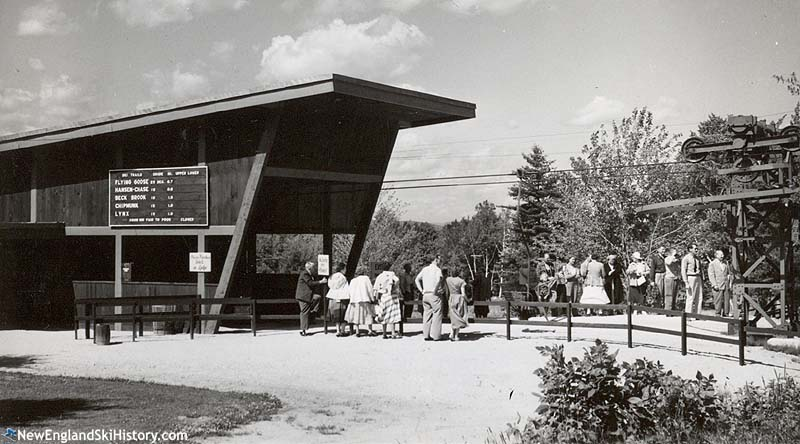 The bottom terminal circa the 1950s
