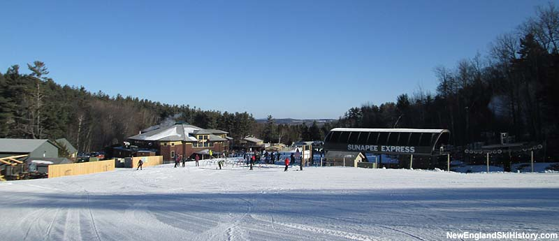 The Sunapee Express Quad in 2013