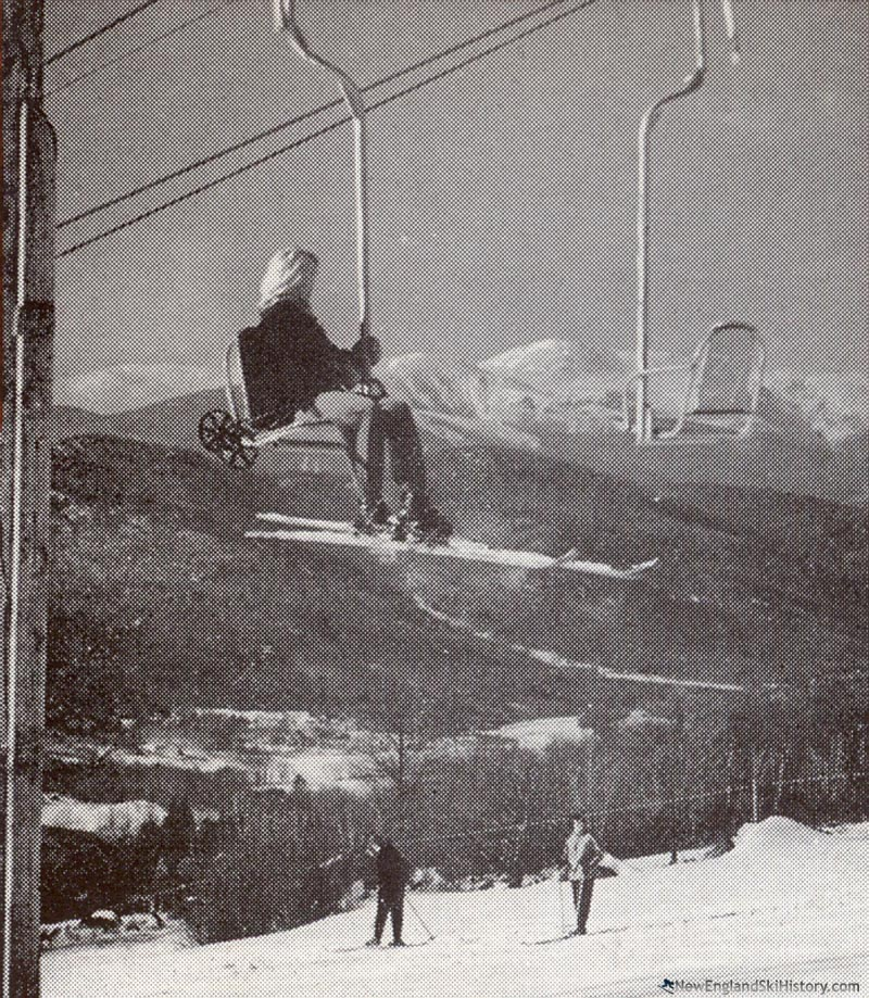 The Upper Chairlift circa the 1940s