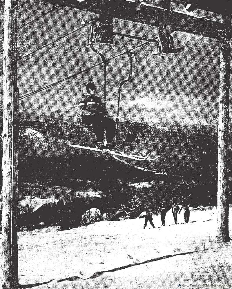 The Upper Chairlift circa 1949