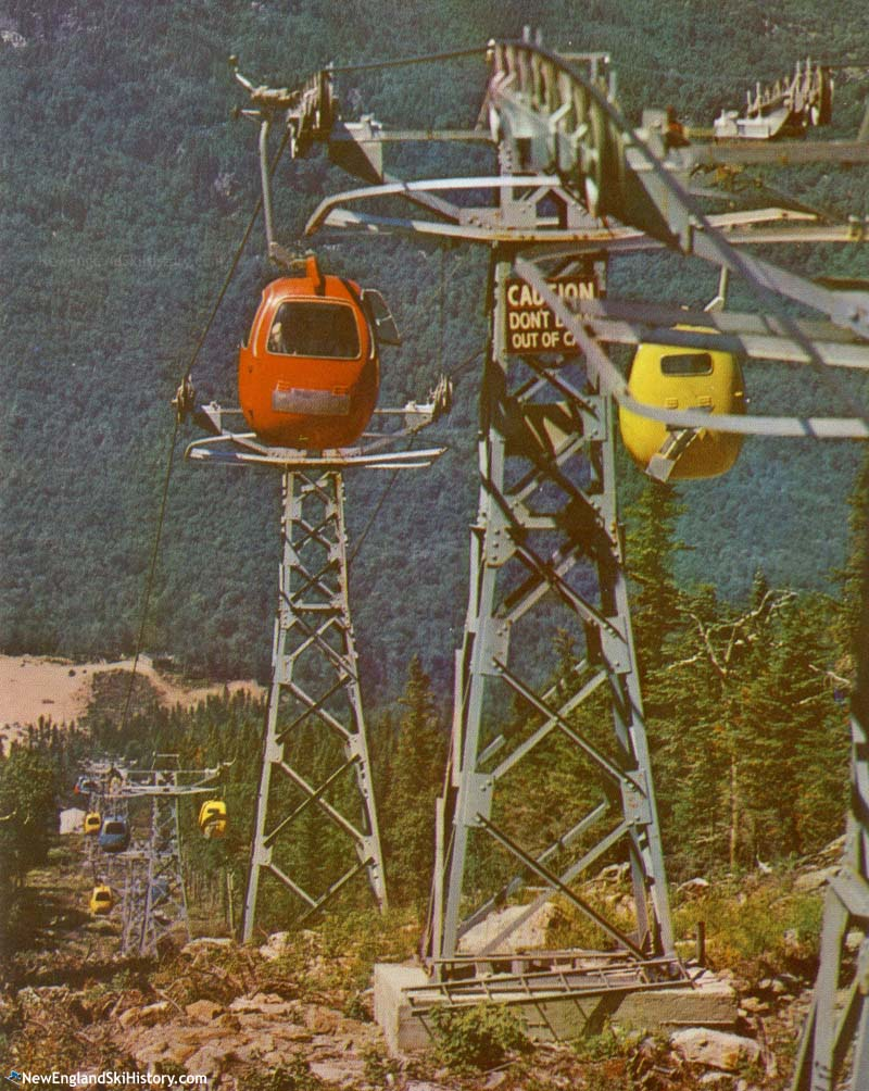 The lift line
