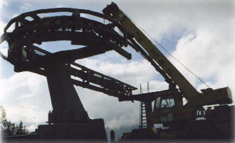 Installation of the Wildcat Express Quad in 1997