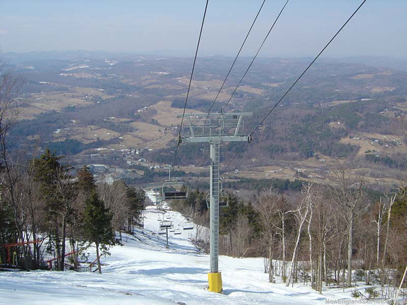 North Peak Express Quad in 2004
