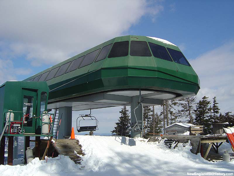 North Peak Express Quad in 2005