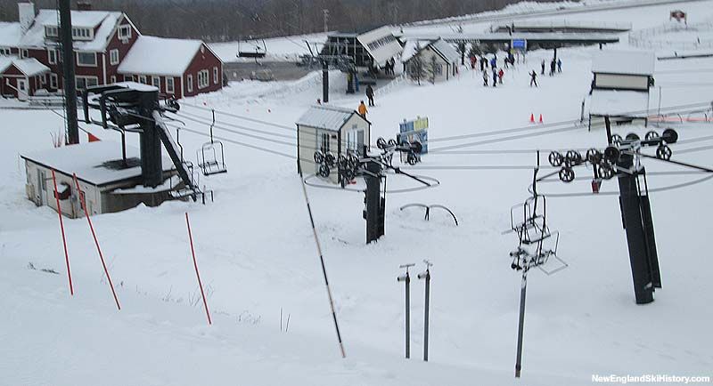 The Plaza Chairlift in 2014