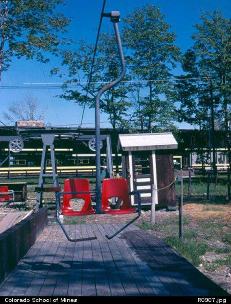 The Transfer Lift circa the 1960s
