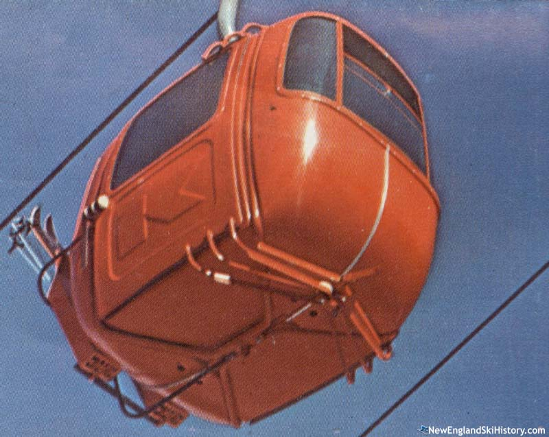 The Killington Gondola circa 1970