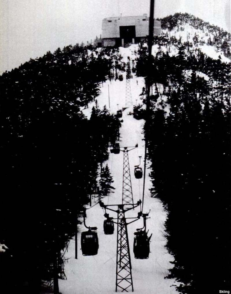 The Killington Gondola circa the early 1970s