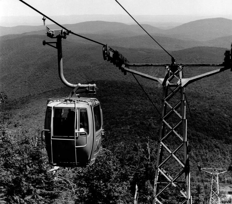 The Killington Gondola possibly circa the 1970s